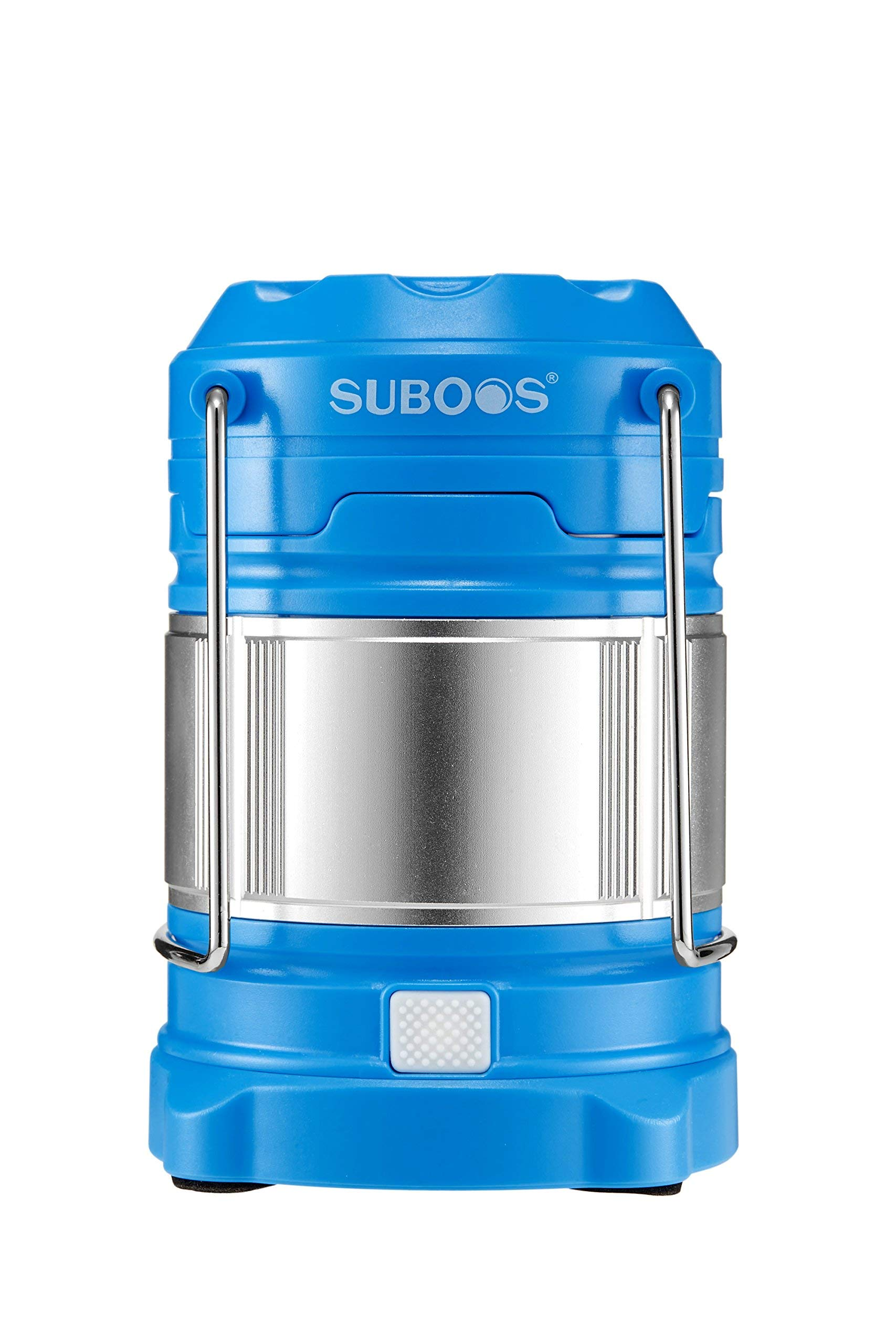 SUBOOS Ultimate Rechargeable LED Lantern and 5200mAh Powerbank - 4 Light Modes-Dual Power - Great for Camping Hiking, Auto Emergencies - Batteries and Hanging Clip Included(Blue) by SUBOOS