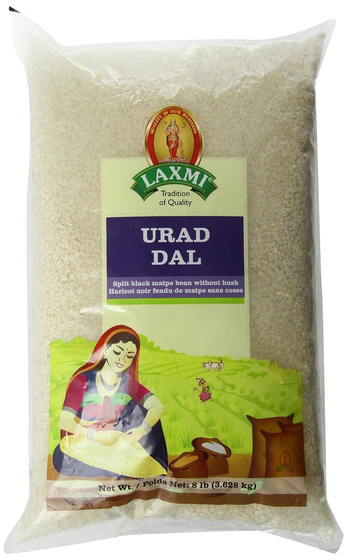 Laxmi Urad Dal (Unhusked Black Lentils) - Traditional Indian Foods, 4 Pounds