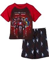 Power Rangers Little/Big Boys' 2-Pc Pajama Short Set