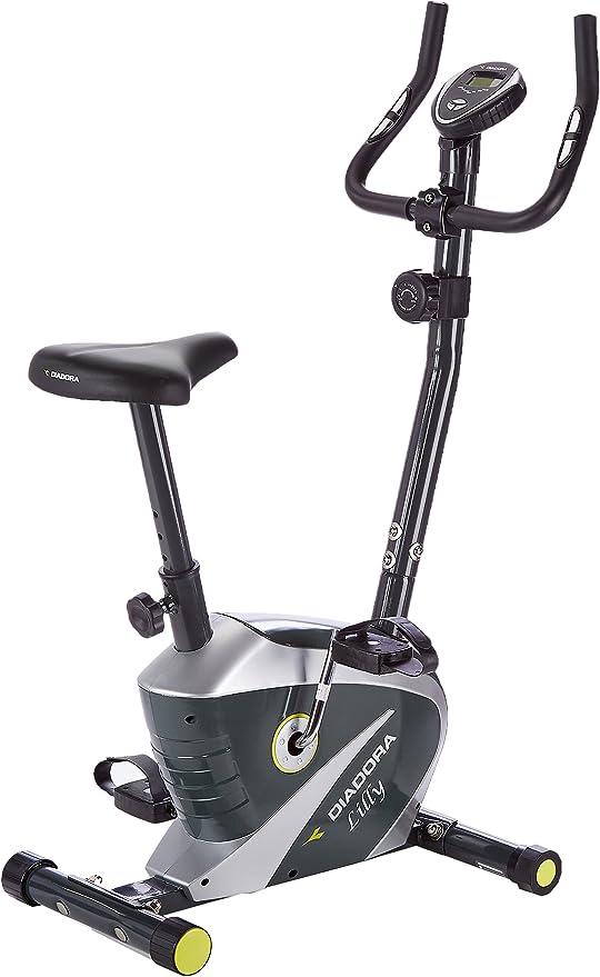 Diadora Fitness Lilly - Bicicleta estática, Color Negro: Amazon.es: Deportes y aire libre