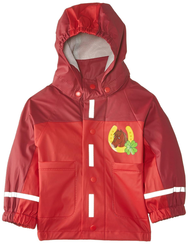 Playshoes Baby-Mädchen Regenbekleidung Regen-Mantel Oeko-Tex Standard 100 Gr. 80 Grün (original) Playshoes GmbH