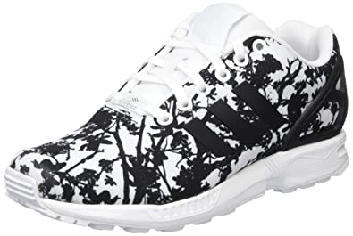 the latest f456c a604b adidas Women s ZX Flux Training Running Shoes, Multicolor (Ftwrr White Core  Black