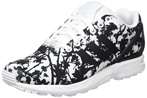 first rate a2371 4b664 Adidas ZX Flux, Zapatillas para Mujer, Blanco WhiteFootwear Core  BlackFootwear White, 38 EU Amazon.es Zapatos y complementos