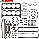 Vincos MLS Head Gasket Set Compatible with Small Block SBC 283 327 350 1955-1979 Overhaul Gasket Set Sealed Power…