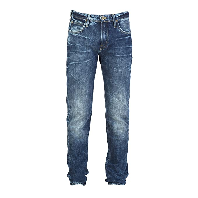 Lee Arvin Regular Tapered Hombres Jeans Azul L732ECVV