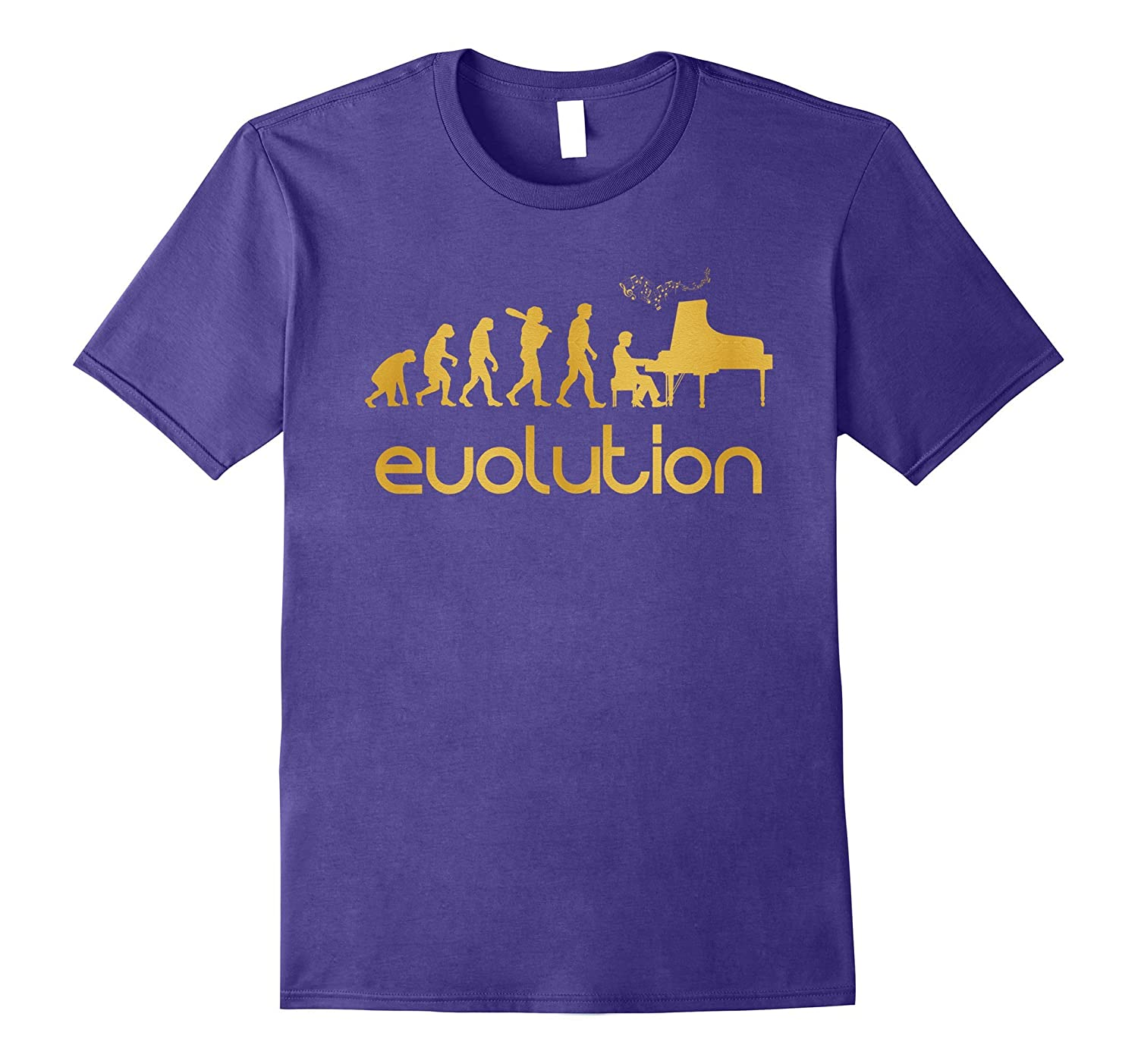 Theory Of Evolution - Pianist T-shirt-Vaci