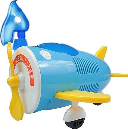 Omnibus AIR NEBULIZER - Inhalador para niños Aparato para medicamentos líquidos con compresor Nebulizador