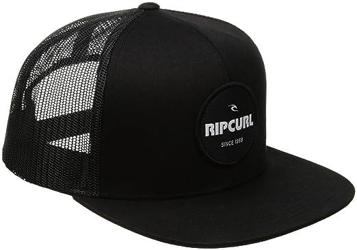 cef53005 Rip Curl mens Daily Routine Trucker Daily Routine Trucker Baseball Cap -  black -