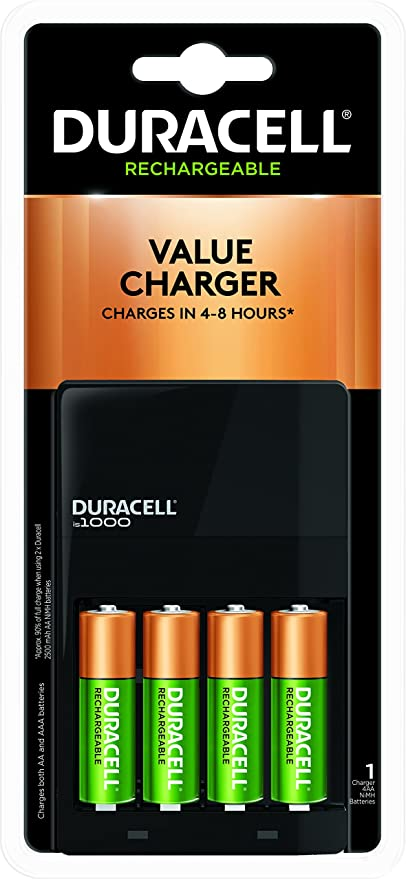 c6f7251bb4c Buy duracell Battery Charger 1000 with 4 aa - 6-8 hrs Online at Low ...