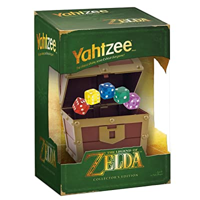 USAOPOLY Yahtzee The Legend of Zelda Collector's Edition Game: Toys & Games