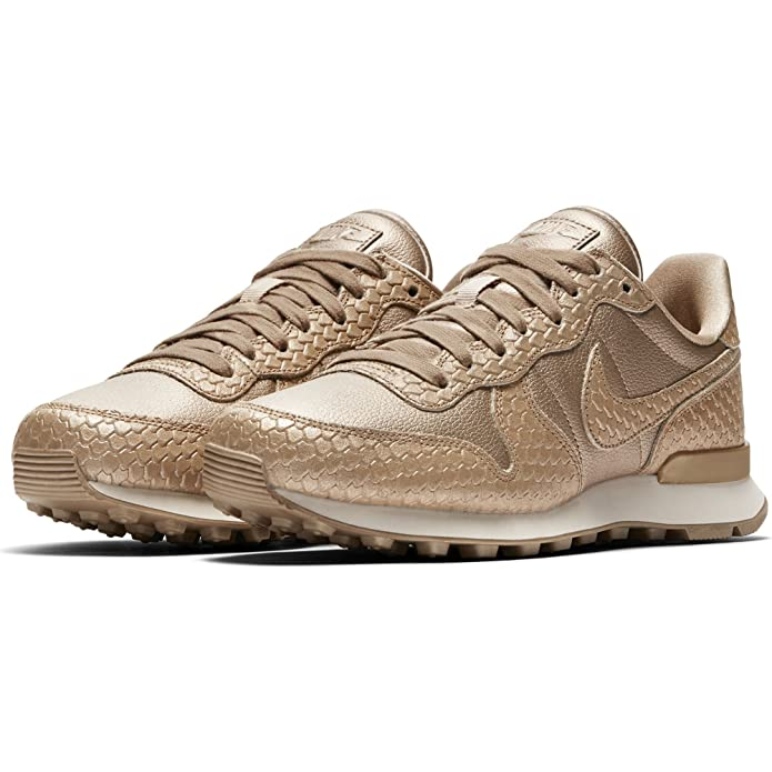 nike internationalist premium femme gold