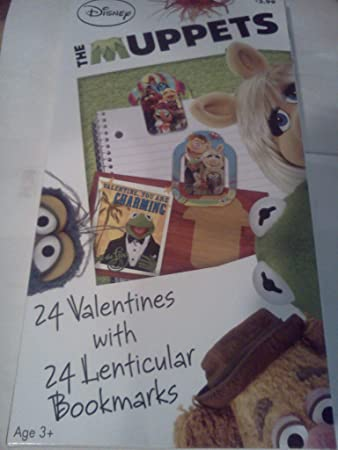 Amazoncom Disney the Muppets Valentine Cards for Kids with