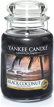 Yankee Candle Grande bougie Black Coconut 623 G bougie parfumée