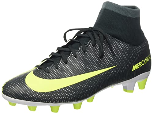 4b7257c1311 Nike Men s Mercurial Vctry 6 Cr7 Df Agpro Football Boots Green Size  ...
