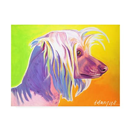 Chinese Crested Pop Art Painting