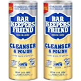 Bar Keepers Friend Powdered Cleanser & Polish 21-Ounces (2-Pack)