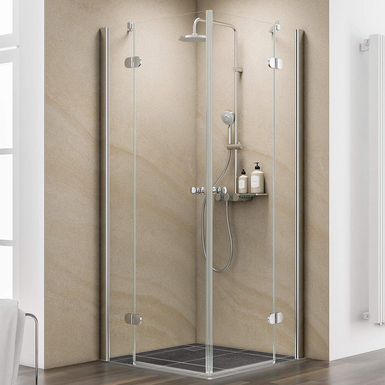 Schulte cabinas de ducha esquina. 80 x 80 cm en baldosas drehtüren ...