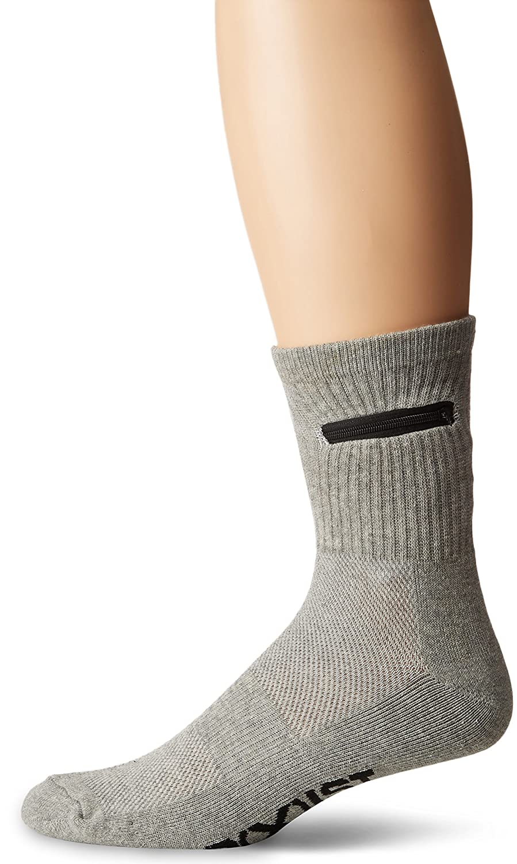 2(x) ist mens standard Zip-pocket Sock black 10-13 2(x)ist 2X#2006