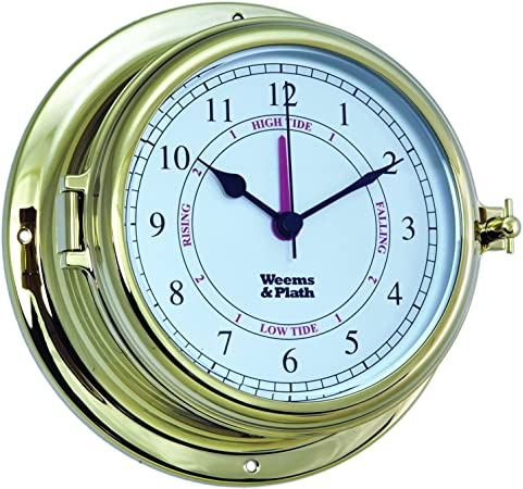 Weems And Plath Endurance Ii 135 Time And Tide Clock Brass By Weems Plath Amazon Co Uk Sports Outdoors