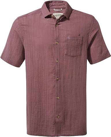 Craghoppers Riviera Short Sleeved - Camisa Hombre: Amazon.es: Ropa y accesorios