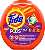 Tide Pods 3 in 1, Laundry Detergent Pacs, Spring Meadow Scent,