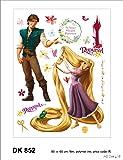 Stickers Muraux Repositionnables XXL Disney RAIPONCE