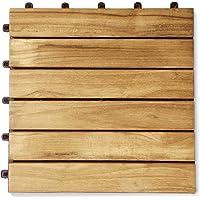 Baldosas de madera de teca de BioMaderas,