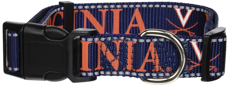 Large Pet Goods NCAA Virginia Cavaliers Dog Collar
