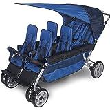 Foundations Worldwide Foundations Regette Blue 6 Passenger Stroller, LX6