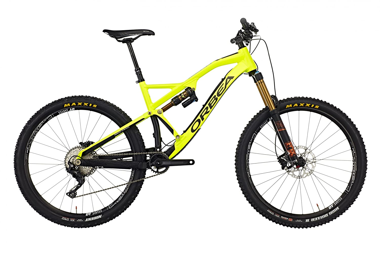 ORBEA Rallon X10 MTB suspensión Total Bicicleta Amarillo/Negro ...
