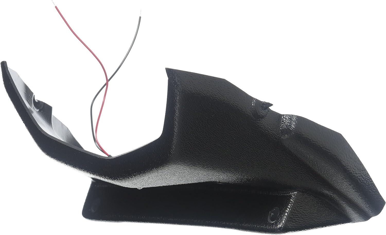Hotbodies Racing 51302-1000 Textured Black ABS License Plate Tag Bracket