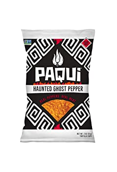 Paqui Spicy Hot Haunted Ghost Pepper Tortilla Chips