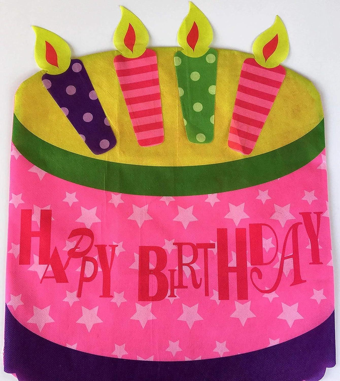 Brilliant Amazon Com Happy Birthday Chair Cover Birthday Cake 19 25 Funny Birthday Cards Online Aboleapandamsfinfo