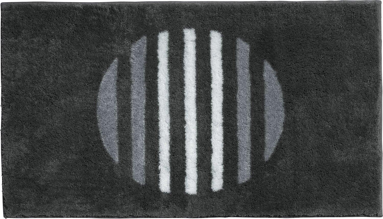 Erwin Müller Badematte anthrazit Größe 80x140 cm