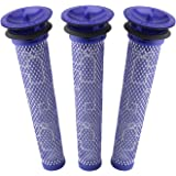 3 Pack Pre Filters for Dyson DC58, DC59, V6, V7, V8. Replacements Part # 965661-01. 3 Filters