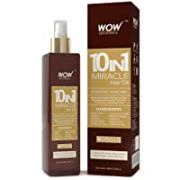 WOW 10 in 1 Miracle No Parabens and Mineral Oil Hair Oil, 200ml