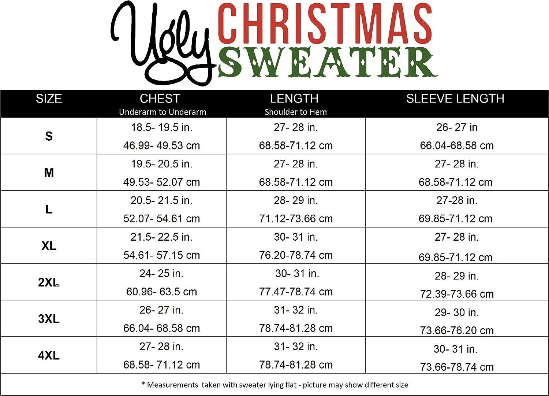 Ugly Christmas Party Ugly Sweater Mens Assorted Reindeer Long Sleeve Sweatshirt
