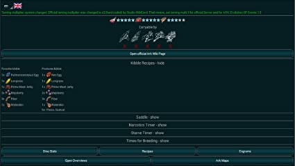A-Calc taming calculator for Ark Survival Evolved