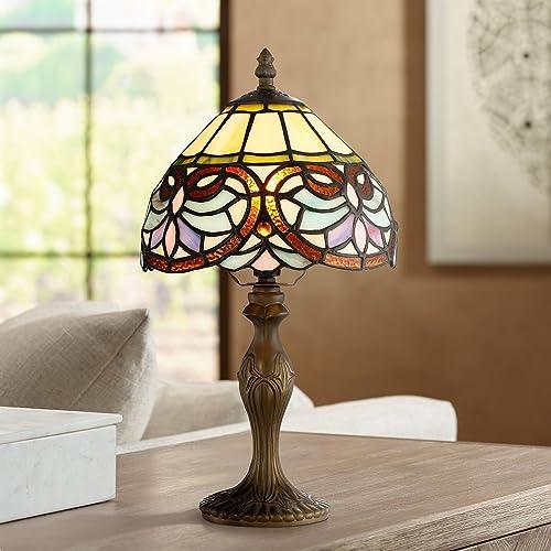 Robert Louis Tiffany 13 1/2″ High Marie Art Glass Table Lamp