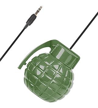 SOUNDLOGIC XT batería grenade-style Mini Altavoz con llavero ...