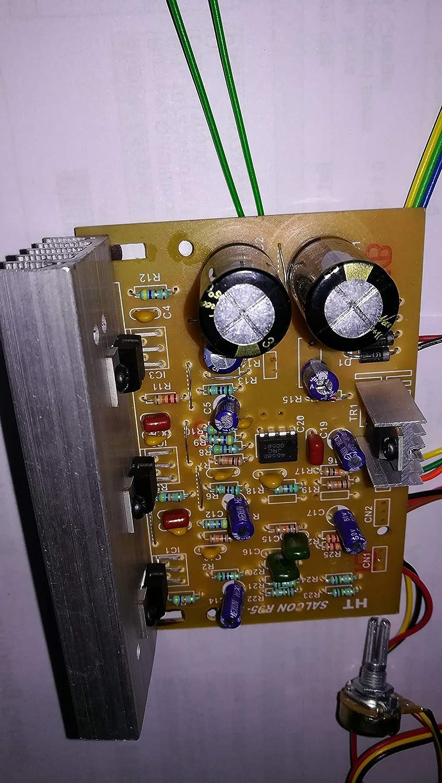 Salcon Electronics 21 Audio Amplifier Board Kit 100 W 12w Circuit Using Tda4935