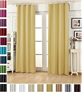 Vorhang Blickdicht Lichtdurchlässig woltu vh5868gb 2 2er set gardinen vorhang blickdicht kräuselband