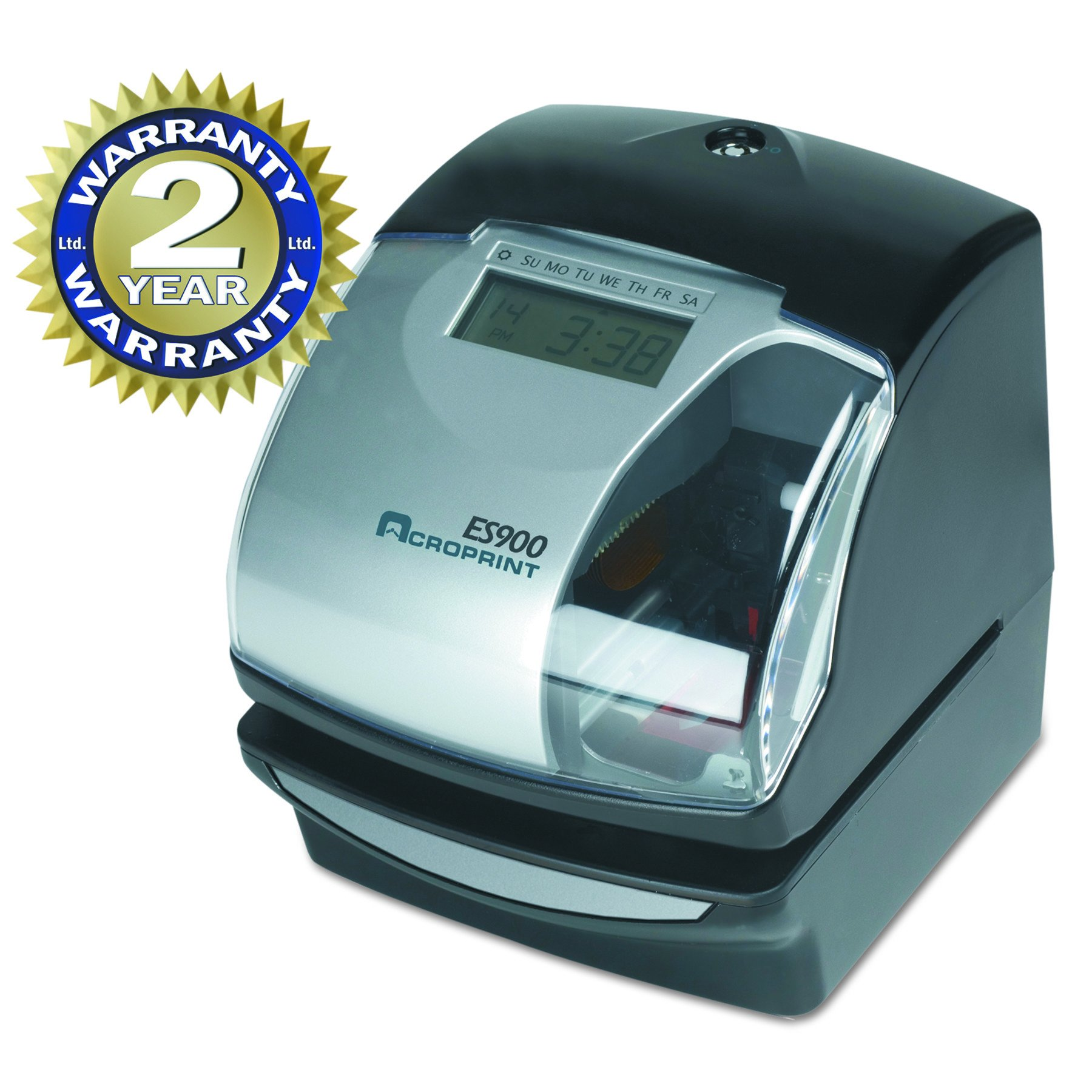 Acroprint ES900 Electronic Payroll Recorder/Time Stamp/Numbering Machine by Acroprint