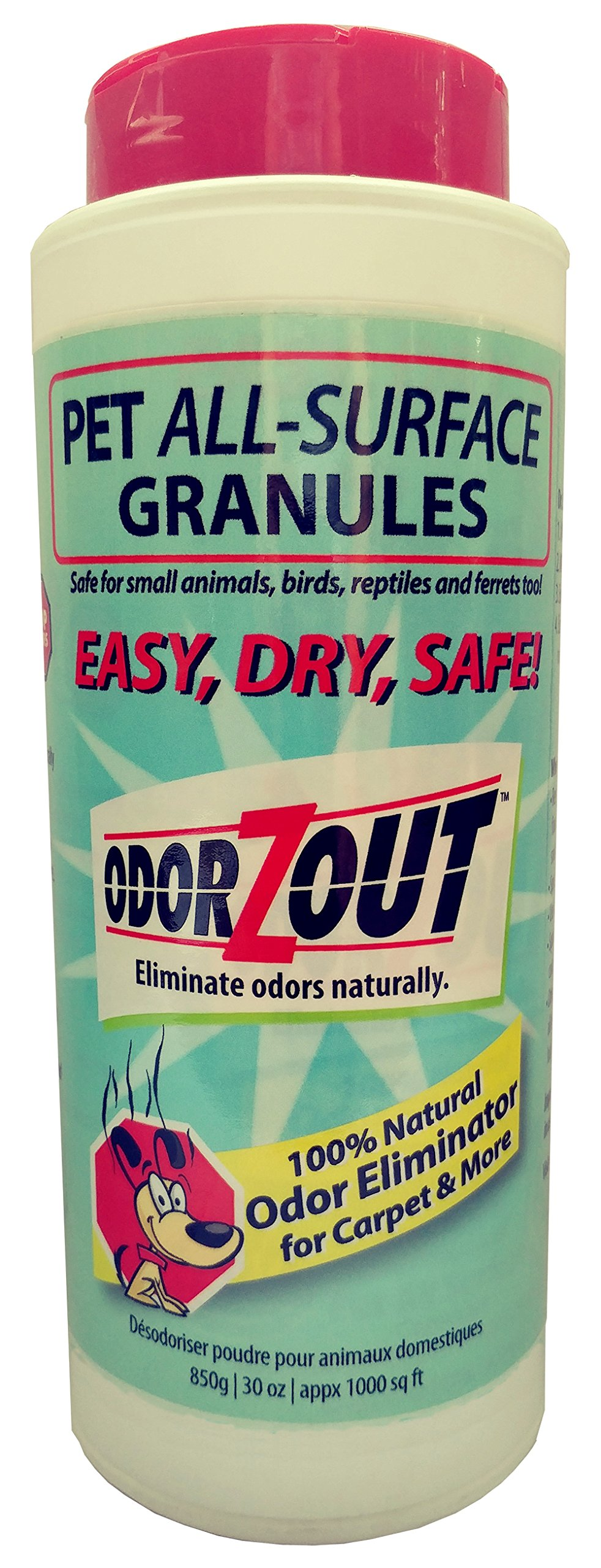 ODORZOUT Pet All-Surface Granules, 30 Ounces by ODORZOUT