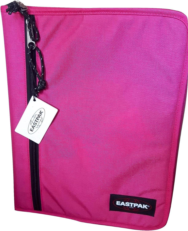 Eastpak A Forganizer Rose - Carpeta con cremallera, tamaño A4, diseño de cuadros, color rosa: Amazon.es: Oficina y papelería