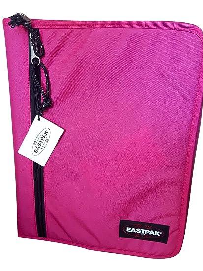 Eastpak A Forganizer Rose - Carpeta con cremallera, tamaño A4, diseño de cuadros,