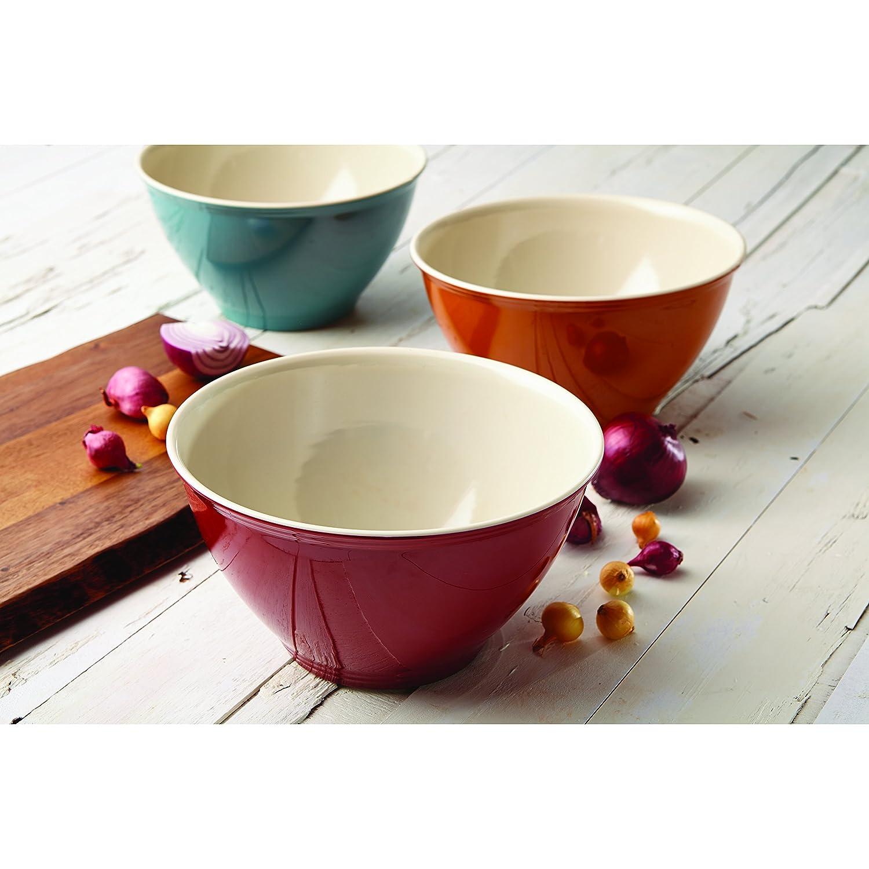 Agave Blue Rachael Ray Cucina Pantryware Melamine Garbage Bowl