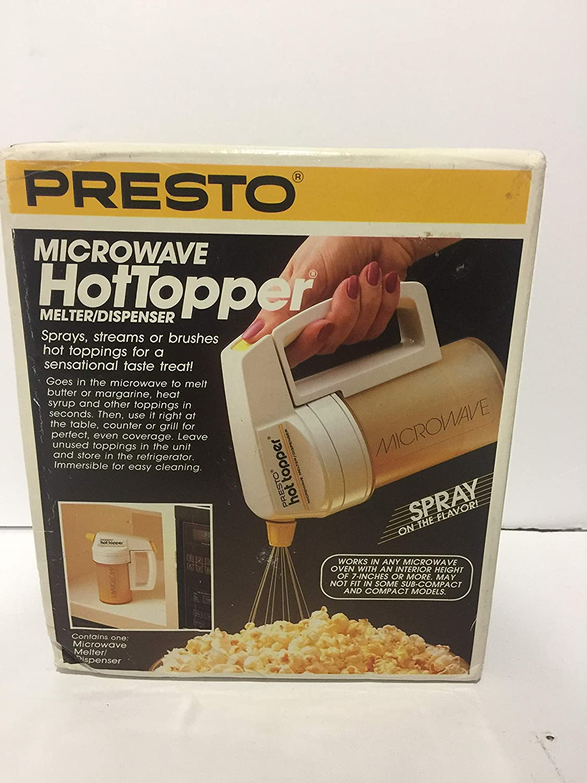 Amazon.com: Presto – Dispensador de Hot Topper Microondas ...