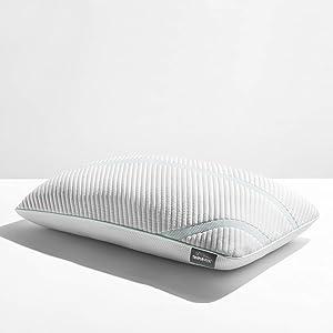 Tempur-Pedic TEMPUR-Adapt ProLo + Cooling-Queen Pillow, White