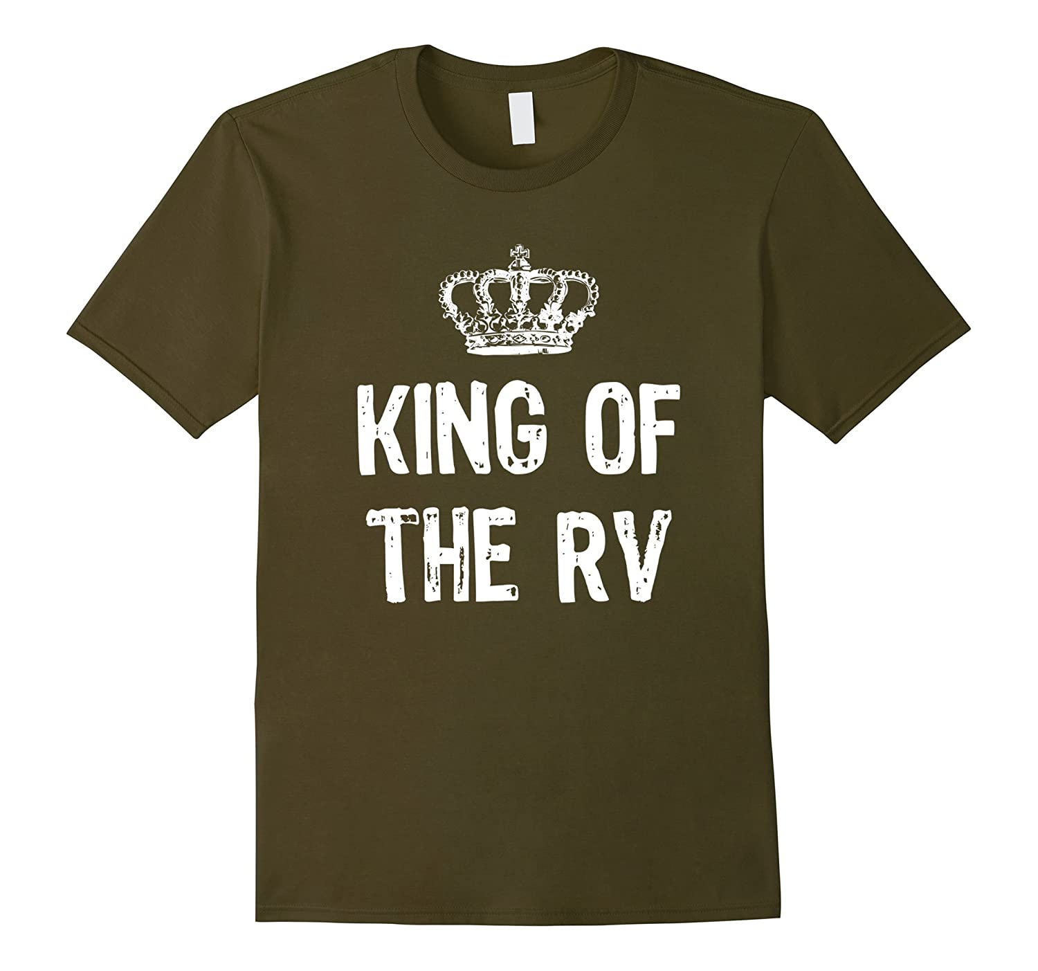 King Of The RV Camping T-Shirt